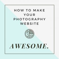 81: Quick Tip Episode: How to Make Your Photography Website AWESOME