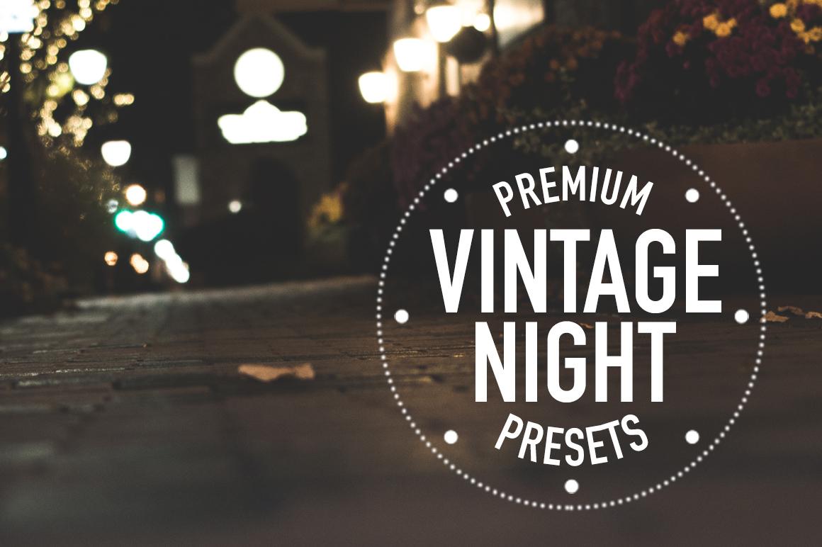 Vintage City Night Lightroom Presets The Pro