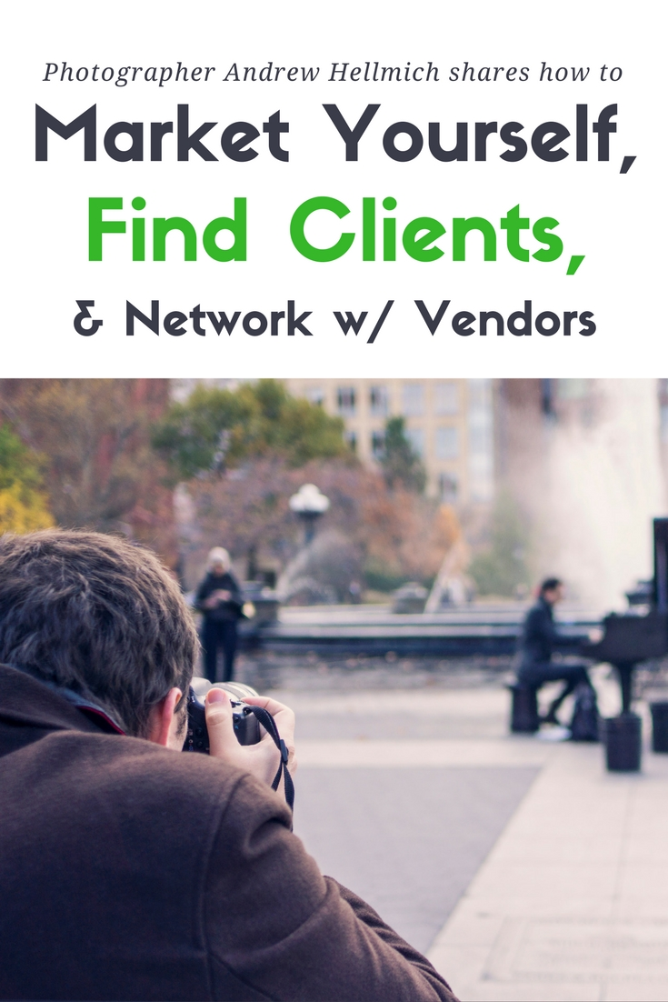 Finding clients and network with vendors