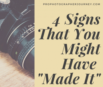 """4 Signs That You Might Have """"Made It"""""""