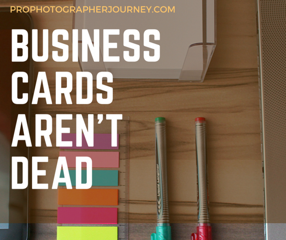 business cards are not dead